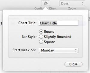 chart config