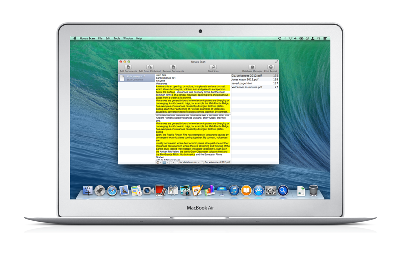 Novus Scan Plagiarism Checker For Mac Os X